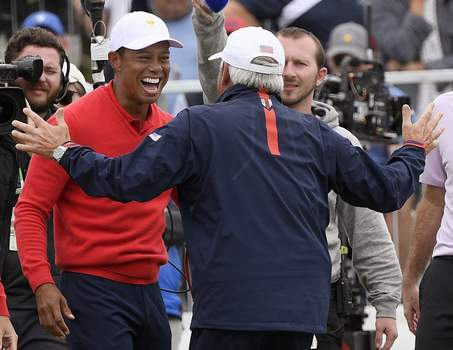 Australia President's Cup Golf Associated Press photos