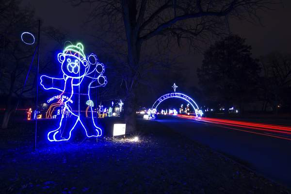 File Enjoy holiday lights this weekend at Blue Jacket's Fantasy of Lights in Franke Park. The drive-thru display continues through Dec. 31.