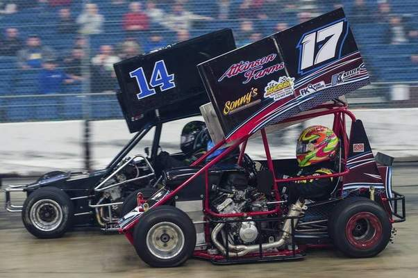 Courtesy photos Former World of Outlaws champion Rico Abreu, who stands just 4-foot-10, attempted to qualify for the 2018 Rumble in Fort Wayne but failedbecause ofbroken equipment  during practice.Over 100 races are set to be contested during the two-day racing event that begins Friday and features  go-karts and midget race cars in at Memorial Coliseum.