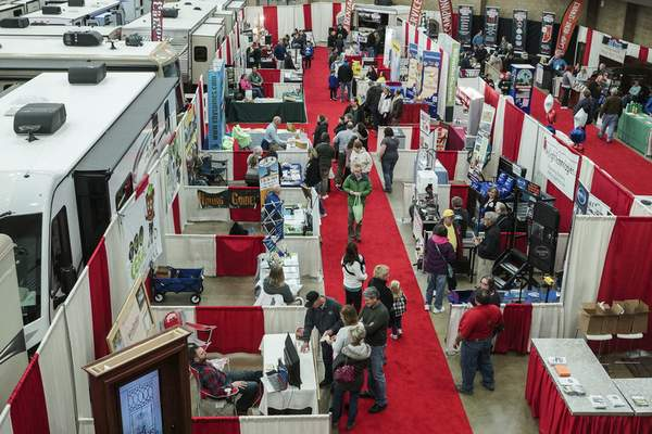 File photos The Fort Wayne RV and Camp show is scheduled for Jan. 30-Feb. 2 at Memorial Coliseum.