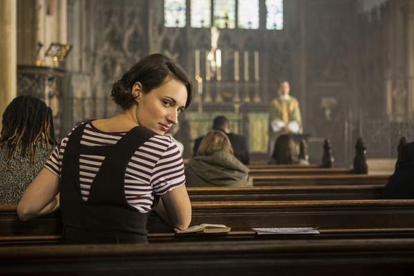 This image released by Amazon Studios shows Phoebe Waller-Bridge in