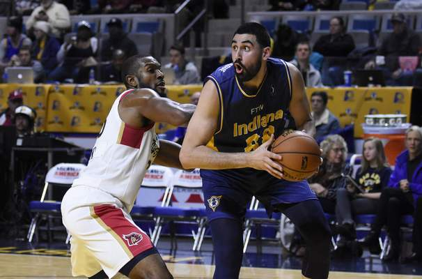 Rachel Von Stroup | The Journal Gazette In the midst of an impressive run, the Mad Ants are adding more talent as Pacers' rookie Goga Bitadze is expected to join the team soon.