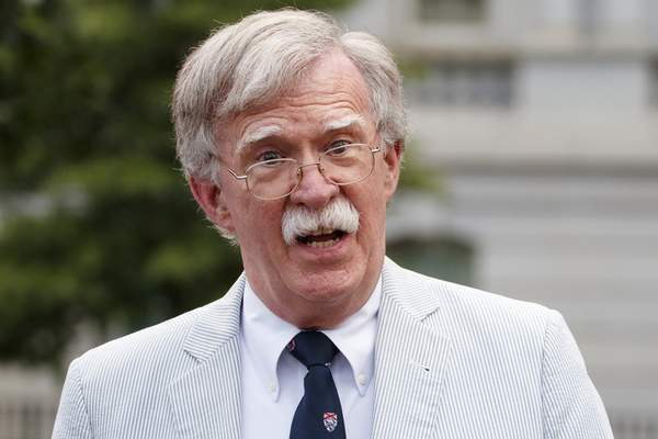 Associated Press Ex-national security adviser John Bolton said Monday he'd be willing to testify in the Senate's impeachment trial.