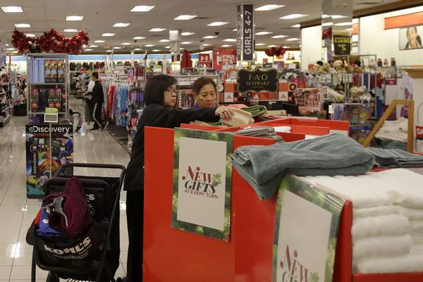 Associated Press Customers shop at a Kohl's store in Colma, Calif. Several mall-based retailers, including Kohl's, reported that sales declined during the holiday season, highlighting challenges being faced from online rivals.