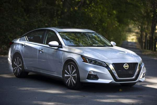 Courtesy Nissan: The 2020 Nissan Altima SL is proof that not everybody wants a sports car, reviewer Casey Williams says. He says it's a car that will simply bring you peace every day and do its job without complaint.