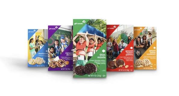 Courtesy Area Girl Scouts began their annual cookie sales on Friday and will no doubt be out and about this weekend to tempt you with the different flavors.
