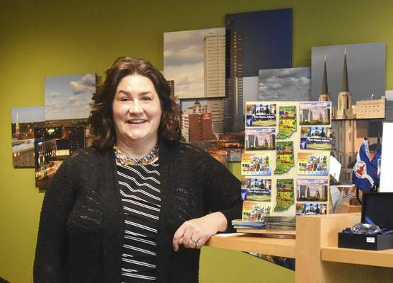 Michelle Davies   The Journal Gazette Kristen Guthrie, vice president of marketing and communications with Visit Fort Wayne.