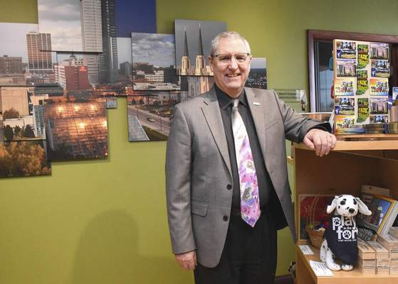 Michelle Davies | The Journal Gazette Dan O'Connell, president and CEO of Visit Fort Wayne.