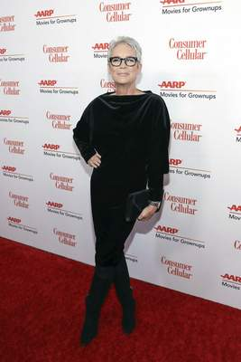 Jamie Lee Curtis attends the AARP 19th Annual Movies For Grownups Awards at the Beverly Wilshire Hotel on Saturday, Jan. 11, 2020, in Beverly Hills, Calif. (Photo by Mark Von Holden/Invision/AP)