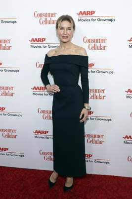 Renee Zellweger attends the AARP 19th Annual Movies For Grownups Awards at the Beverly Wilshire Hotel on Saturday, Jan. 11, 2020, in Beverly Hills, Calif. (Photo by Mark Von Holden/Invision/AP)