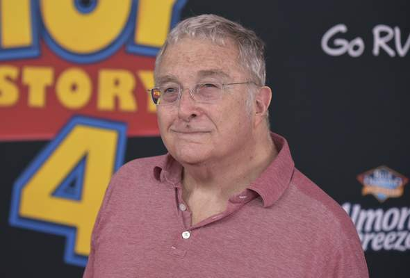FILE - This June 11, 2019 file photo shows Randy Newman at the world premiere of Toy Story 4 in Los Angeles. Newman was nominated for an Oscar for original song for I Can't Let You Throw Yourself Away, from Toy Story 4. (Photo by Richard Shotwell/Invision/AP, File)