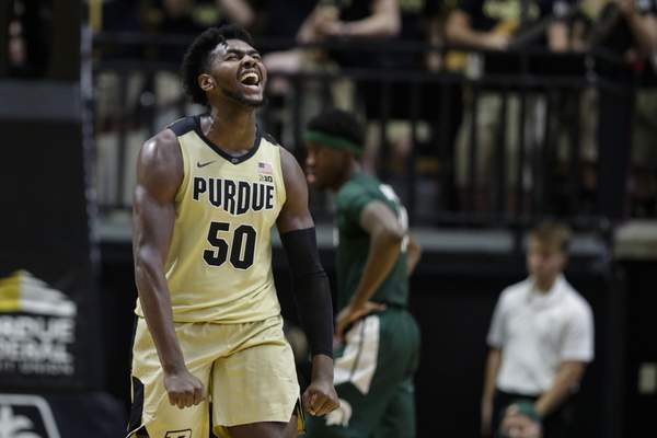 Associated Press Trevion Williams, who helped Purdue beat Michigan State, has been named co-Big Ten Player of the Week.
