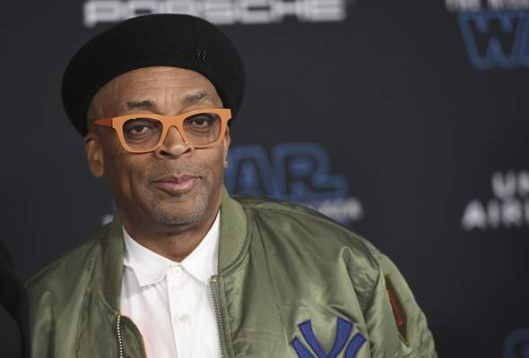 FILE - In this Dec. 16, 2019 file photo, Spike Lee arrives at the world premiere of Star Wars: The Rise of Skywalker in Los Angeles. (Jordan Strauss/Invision/AP, File )