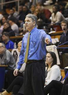 Katie Fyfe   The Journal Gazette  Homestead girls basketball coach Rod Parker returns to lead his team to victory after having health complications.