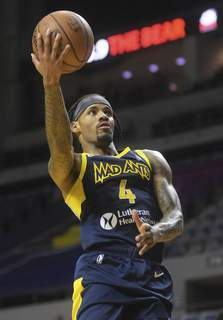 Katie Fyfe | The Journal Gazette Walt Lemon Jr. has been bright spot all season for the Mad Ants. He's averaging 19.8 points, 5.7 assists and 4.2 rebounds.