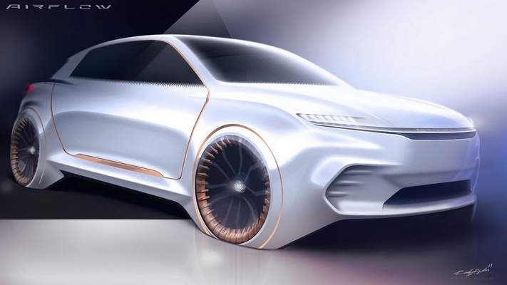 Courtesy Chrysler: Chrysler Airflow Concept