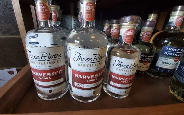 The Harvester Vodka from Three Rivers Distilling Co. on Wallace St.