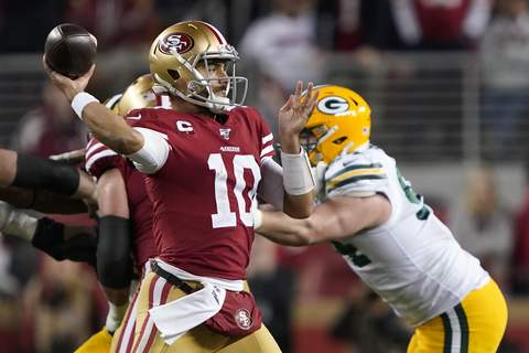 NFC Championship Packers 49ers Football Associated Press 