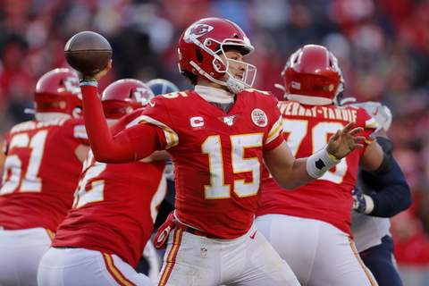 AFC Championship Titans Chiefs Football Associated Press