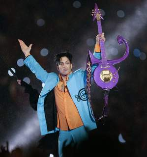 Prince Death Lawsuit FILE - In this Feb. 4, 2007 file photo, Prince performs during halftime of the Super Bowl XLI football game in Miami. (AP Photo/Chris O'Meara, File) (Chris O'Mears STF)