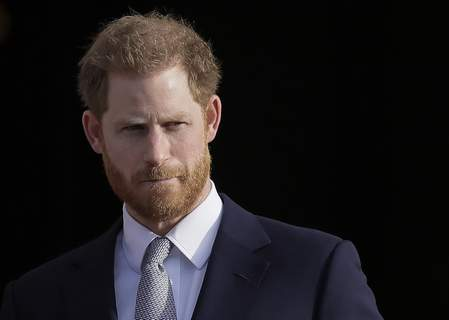 Britain-Royal Rift-Harry FILE - In this Thursday, Jan. 16, 2020, file photo, Britain's Prince Harry arrives in the gardens of Buckingham Palace in London. (AP Photo/Kirsty Wigglesworth, File) (Kirsty Wigglesworth STF)