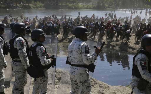 Mexico Central America Migrants Associated Press
