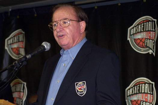 Obit Wootten Associated Press Hall of Fame basketball coach Morgan Wootten, shown in 2000, died Tuesday at 88. He retired from coaching with a 1,274-192 record. (ELISE AMENDOLASTF)