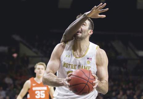 Syracuse Notre Dame Basketball Associated Press