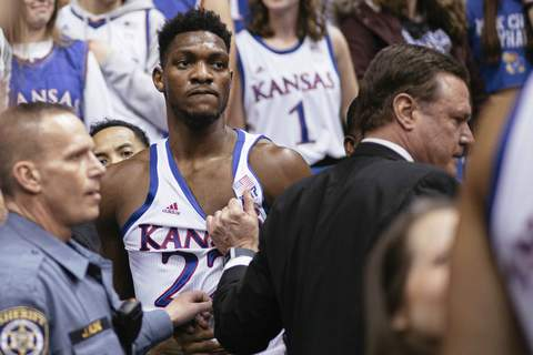 Kansas Kansas St Brawl Basketball Associated Press