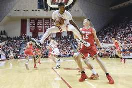 Ohio St Indiana Basketball Associated Press Indiana guard Al Durham says holding Michigan State's Cassius Winston in check will be crucial during tonight's Big Ten matchup at Assembly Hall.  (AJ MastFRE)