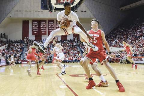 Ohio St Indiana Basketball Associated Press