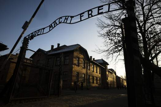 Auschwitz Holocaust Politics Associated Press  World leaders will gather twice to mark the 75th anniversary of the liberation of the Auschwitz-Birkenau concentration camp, which reflects how politically charged World War II remains for  Russia and Poland.  (Markus SchreiberSTF)