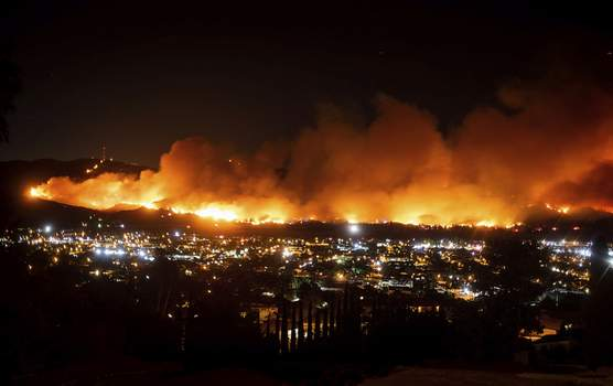 California Wildfire Tech Startups Associated Press Smoke from the Maria fire billows above Santa Paula, California, last October. As wildfire risks heat up, startups in Silicon Valley are starting to take notice. (Noah BergerFRE)