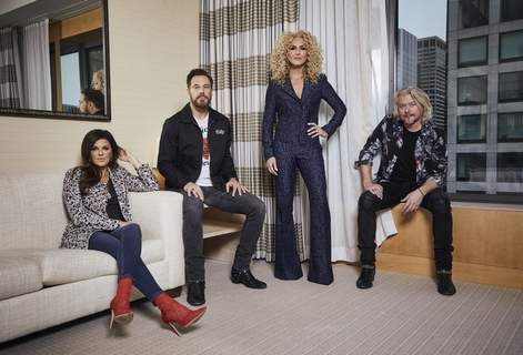 Little Big Town Portrait Session Associated Press