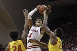 Maryland Indiana Basketball Associated Press