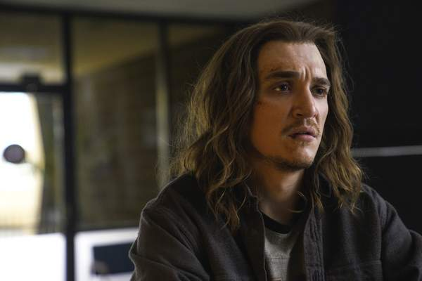 """CBS All Access Kyle Gallner is Eric Fisher in the CBS All Access series """"Interrogation."""""""