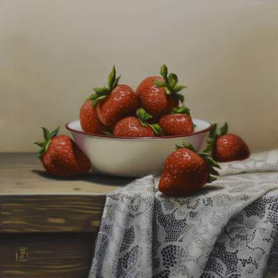 Sweetness by Jose Pardo is part of the Valentine's Show at Castle Gallery Fine Art.