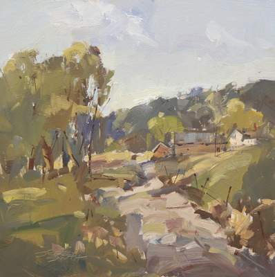 Shifting Sunspots by Jerry Smith is part of the Valentine's Show at Castle Gallery Fine Art.