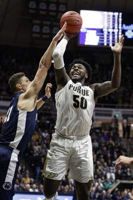 Associated Press Purdue forward Trevion Williamswill match up with Ohio State's Kaleb Wesson today, a big man as physical and strong as Williams is.