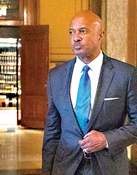 Associated Press Indiana Attorney General Curtis Hill arrives for his hearing at the Supreme Court at the Statehouse last October.