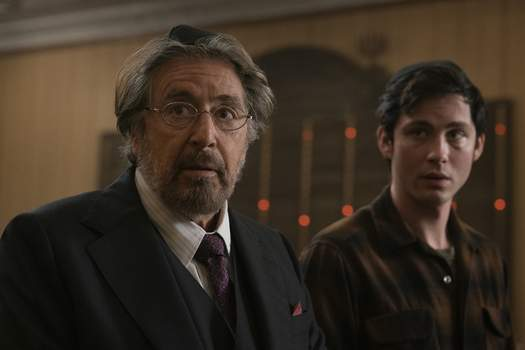 """Amazon Studios Al Pacino is among cast members in the Amazon series """"Hunters,"""" which premieres today. (Christopher Saunders)"""