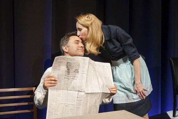 """Eric Black, left, and Anna Macke starin """"My Name is Ruth,"""" which is part of All For One Productions' """"Ruth2."""""""