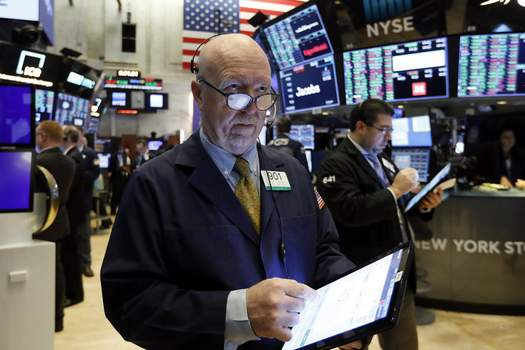 Financial Markets FILE - In this Feb. 6, 2020, file photo trader John Doyle works on the floor of the New York Stock Exchange. The U.S. stock market opens at 9:30 a.m. EST on Friday, Feb. 21. (AP Photo/Richard Drew, File) (Richard Drew