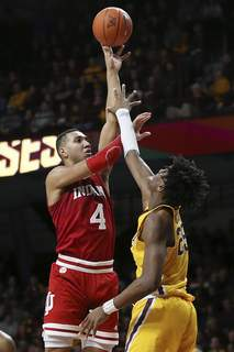 Indiana Minnesota Basketball Associated Press Indiana's Trayce Jackson-Daviswill try to lead the Hoosiers to a win today against Penn State at Assembly Hall. (Stacy BengsFRE)