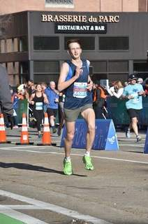Courtesy Warsaw's Robert Murphy hit the Olympic qualifying time Jan. 19 at the Chevron Houston Marathon where his time was 2:18:58. The success came after falling short previously in Indianapolis.