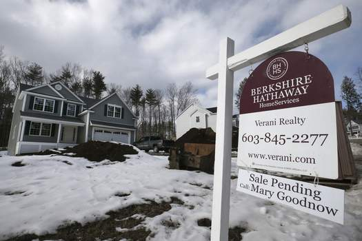 Home Sales In this Feb. 20, 2020, photo a