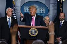Trump Virus Outbreak Associated Press