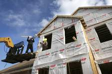 Home Sales Associated Press