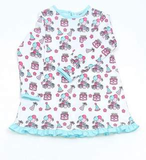 Recalled Just Blanks-branded nightgown - birthday print
