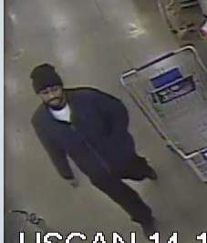 Courtesy Indiana State Police: State police are seeking information about this man, the suspect in several thefts with a stolen credit card in the Fort Wayne area.